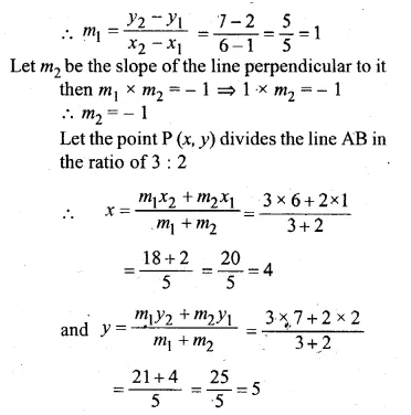 ML Aggarwal Class 10 Solutions for ICSE Maths Chapter 12 Equation of a Straight Line Chapter Test Q12.1