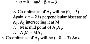 ML Aggarwal Class 10 Solutions for ICSE Maths Chapter 12 Equation of a Straight Line Chapter Test Q8.2