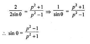 ML Aggarwal Class 10 Solutions for ICSE Maths Chapter 19 Trigonometric Identities Chapter Test Q13.2
