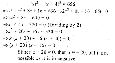 ML Aggarwal Class 10 Solutions for ICSE Maths Chapter 6 Quadratic Equations in One Variable Chapter Test Q17.1