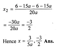 ML Aggarwal Class 10 Solutions for ICSE Maths Chapter 6 Quadratic Equations in One Variable Chapter Test Q8.3