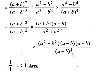 ML Aggarwal Class 10 Solutions for ICSE Maths Chapter 8 Ratio and Proportion Chapter Test Q1.1