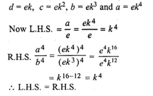 ML Aggarwal Class 10 Solutions for ICSE Maths Chapter 8 Ratio and Proportion Chapter Test Q10.1