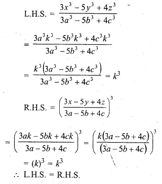 ML Aggarwal Class 10 Solutions for ICSE Maths Chapter 8 Ratio and Proportion Chapter Test Q14.1
