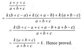 ML Aggarwal Class 10 Solutions for ICSE Maths Chapter 8 Ratio and Proportion Chapter Test Q16.1