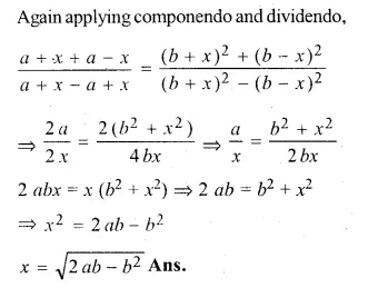 ML Aggarwal Class 10 Solutions for ICSE Maths Chapter 8 Ratio and Proportion Chapter Test Q21.2