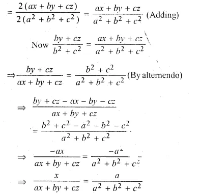 ML Aggarwal Class 10 Solutions for ICSE Maths Chapter 8 Ratio and Proportion Chapter Test Q23.1