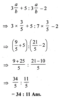ML Aggarwal Class 10 Solutions for ICSE Maths Chapter 8 Ratio and Proportion Chapter Test Q3.1