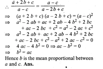 ML Aggarwal Class 10 Solutions for ICSE Maths Chapter 8 Ratio and Proportion Chapter Test Q8.1