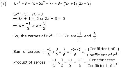 NCERT Solutions for Class 10 Maths Chapter 2 Polynomials 5