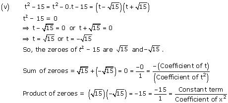 NCERT Solutions for Class 10 Maths Chapter 2 Polynomials 7