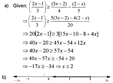 Plus One Maths Previous Year Question Paper March 2018, 13