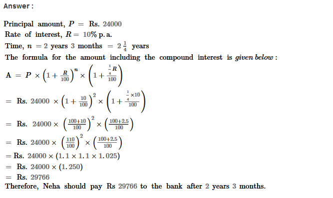 Compound Interest RS Aggarwal Class 8 Maths Solutions Ex 11B 13.1