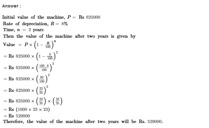 Compound Interest RS Aggarwal Class 8 Maths Solutions Ex 11B 29.1