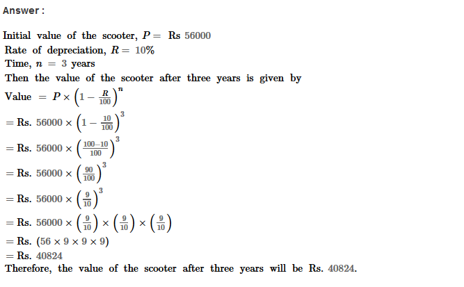 Compound Interest RS Aggarwal Class 8 Maths Solutions Ex 11B 30.1