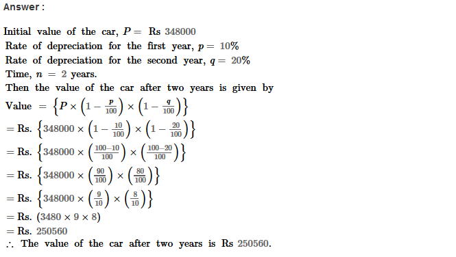 Compound Interest RS Aggarwal Class 8 Maths Solutions Ex 11B 31.1