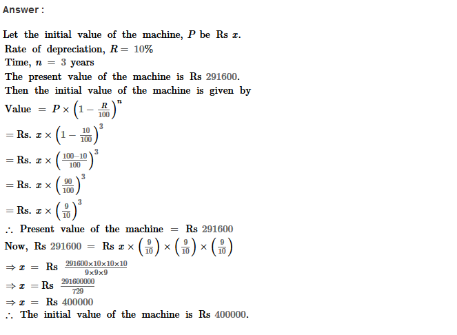 Compound Interest RS Aggarwal Class 8 Maths Solutions Ex 11B 32.1
