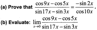 Plus One Maths Improvement Question Paper Say 2018, 1