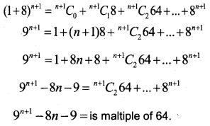Plus One Maths Improvement Question Paper Say 2018, 21