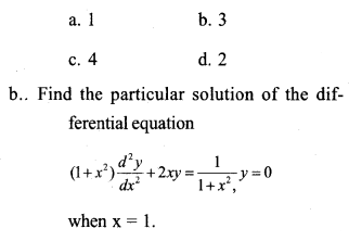 Plus Two Maths Previous Year Question Paper March 2017 Q10.1