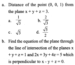 Plus Two Maths Previous Year Question Paper March 2017 Q14