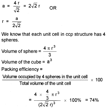 Plus Two Chemistry Notes Chapter 1 The Solid State 16.