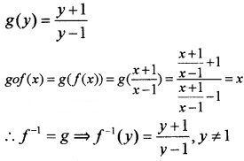 Plus Two Maths Chapter Wise Questions and Answers Chapter 1 Relations and Functions 6M Q1.1