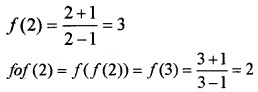 Plus Two Maths Chapter Wise Questions and Answers Chapter 1 Relations and Functions 6M Q1