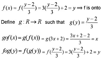Plus Two Maths Chapter Wise Questions and Answers Chapter 1 Relations and Functions 6M Q5