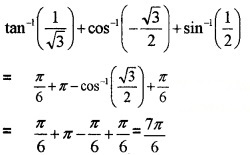 Plus Two Maths Chapter Wise Questions and Answers Chapter 2 Inverse Trigonometric Functions 3M Q2.1
