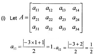 Plus Two Maths Chapter Wise Questions and Answers Chapter 3 Matrices 3M Q10