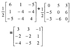 Plus Two Maths Chapter Wise Questions and Answers Chapter 3 Matrices 3M Q11.3