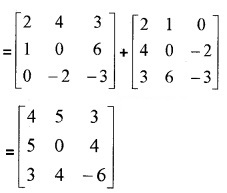 Plus Two Maths Chapter Wise Questions and Answers Chapter 3 Matrices 3M Q12