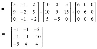Plus Two Maths Chapter Wise Questions and Answers Chapter 3 Matrices 3M Q4.1