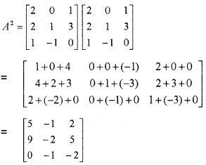 Plus Two Maths Chapter Wise Questions and Answers Chapter 3 Matrices 3M Q4