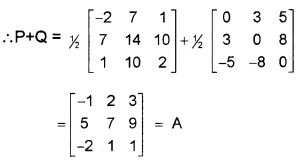 Plus Two Maths Chapter Wise Questions and Answers Chapter 3 Matrices 3M Q6.1