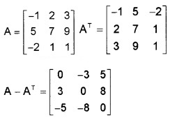Plus Two Maths Chapter Wise Questions and Answers Chapter 3 Matrices 3M Q6
