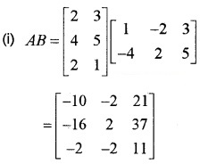 Plus Two Maths Chapter Wise Questions and Answers Chapter 3 Matrices 3M Q9