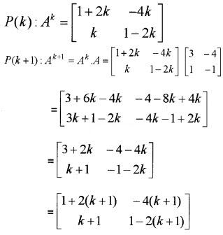 Plus Two Maths Chapter Wise Questions and Answers Chapter 3 Matrices 4M Q1