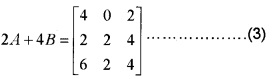 Plus Two Maths Chapter Wise Questions and Answers Chapter 3 Matrices 4M Q2.1