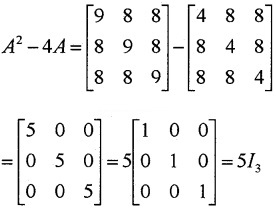 Plus Two Maths Chapter Wise Questions and Answers Chapter 3 Matrices 4M Q5.1