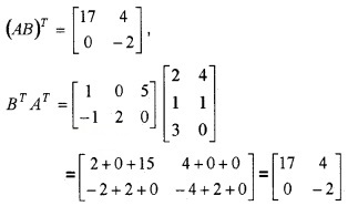 Plus Two Maths Chapter Wise Questions and Answers Chapter 3 Matrices 4M Q6.2