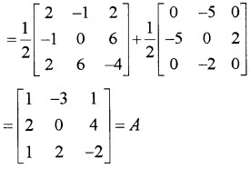 Plus Two Maths Chapter Wise Questions and Answers Chapter 3 Matrices 4M Q7.1