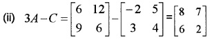 Plus Two Maths Chapter Wise Questions and Answers Chapter 3 Matrices 6M Q1.1