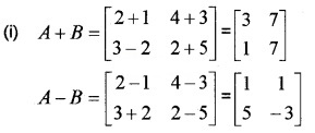 Plus Two Maths Chapter Wise Questions and Answers Chapter 3 Matrices 6M Q1