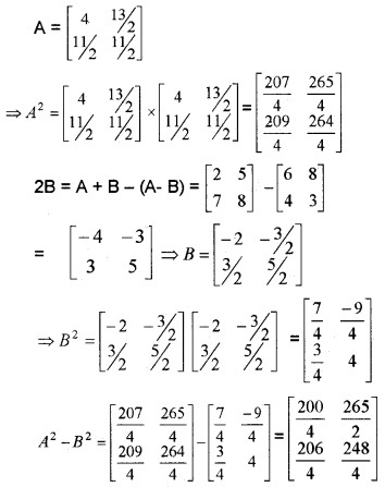 Plus Two Maths Chapter Wise Questions and Answers Chapter 3 Matrices 6M Q10.1
