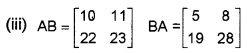 Plus Two Maths Chapter Wise Questions and Answers Chapter 3 Matrices 6M Q2.2