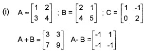 Plus Two Maths Chapter Wise Questions and Answers Chapter 3 Matrices 6M Q2