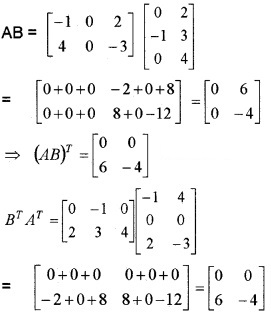 Plus Two Maths Chapter Wise Questions and Answers Chapter 3 Matrices 6M Q3.1