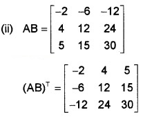 Plus Two Maths Chapter Wise Questions and Answers Chapter 3 Matrices 6M Q5.1